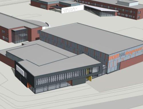 Nieuwbouw Sporthal Dongemond College