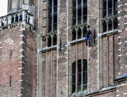 Schilderwerk Grote kerk Dordrecht